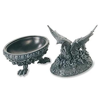 """Boîte Dragon Fantasy avec pieds """"Pattes de Dragon"""""""