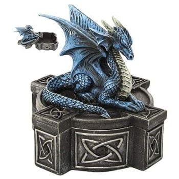 """Boîte Dragon d'eau """"Water Dragon"""" Design officiel Anne Stokes"""