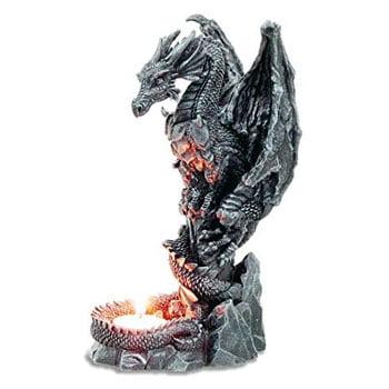 Bougeoir Dragon Gardien du Feu Sacré