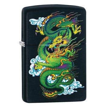 """Briquet Zippo Dragon """"Black Matte Dragon"""" - Véritable Zippo"""