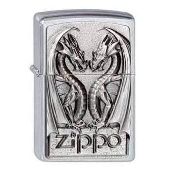 """Briquet Zippo Dragon """"Twin Dragon Heart"""" - Véritable Zippo"""