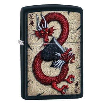 """Briquet Zippo Dragon """"Dragon Ace"""" - Véritable Zippo"""