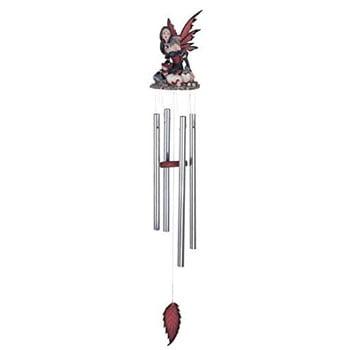 Carillon Fantasy Fée avec œufs de dragon et bébés dragons