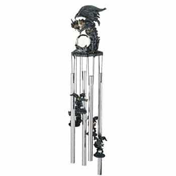 Carillon Dragon Fantasy avec Orbe