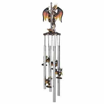 Carillon Dragon Fantasy avec Épée
