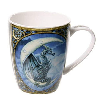 "Mug Collection ""Moon Dragon"" - Design officiel Lisa Parker"
