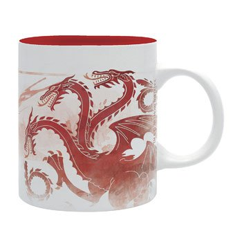 Mug Game of Thrones - Dragon Tricéphale de la Maison Targaryen