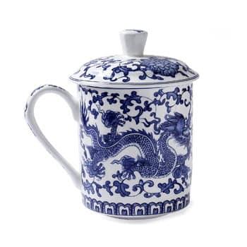 Tasse à thé Dragon chinois avec infuseur