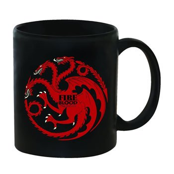 Mug Game of Thrones – Dragon à trois têtes de la Maison Targaryen