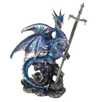 "Coupe-papier Dragon de saphir ""Sword of the Dragon"""