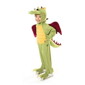 Déguisement Dragon Vert
