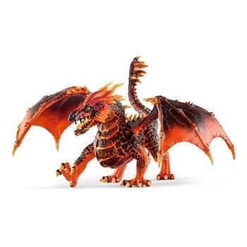 Figurine Dragon de Lave
