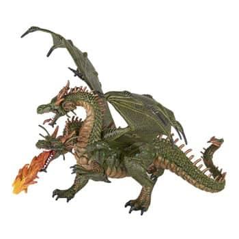 Figurine Dragon à deux têtes