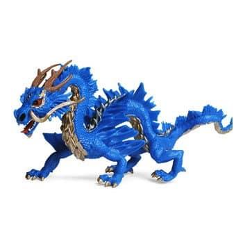 Figurine Dragon Azur Chinois