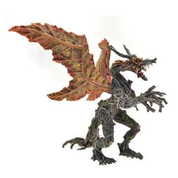 Figurine Dragon Végétal Automne