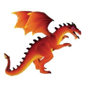 Figurine Dragon Rouge