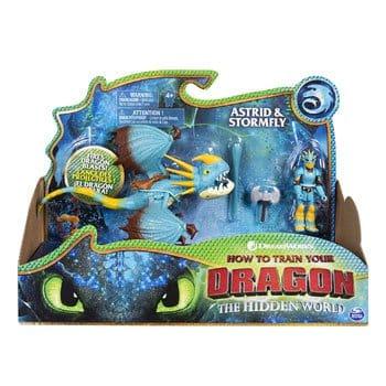 Figurines Dragons 3 : Astrid et Tempête
