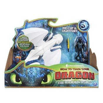 Figurines Dragons 3 : Harold et Furie Éclair