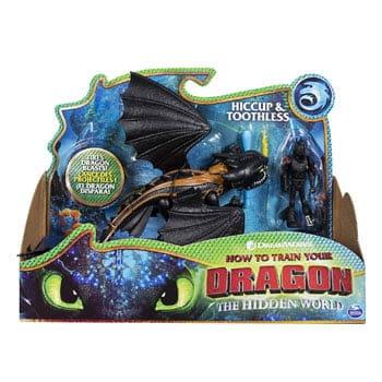 Figurines Dragons 3 : Harold et Krokmou