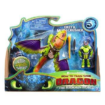 Figurines Dragons 3 : Eret et Crânecruscher