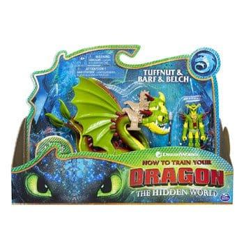 Figurines Dragons 3 : Kranedur avec Prout et Pète