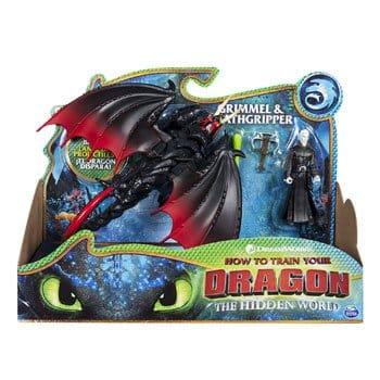 Figurines Dragons 3 : Grimmel le Grave et Agrippemort