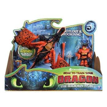 Figurines Dragons 3 : Rustik et Krochefer