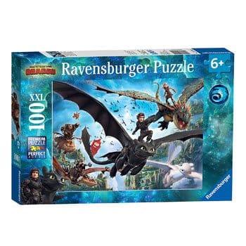 Puzzle Dragons 3 de Raversburger - 100 pièces
