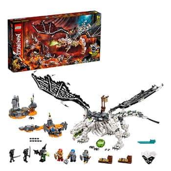 Set de construction LEGO Ninjago - Le Dragon du Sorcier au Crâne