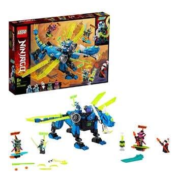 Set de construction LEGO Ninjago - Le Cyber Dragon de Jay