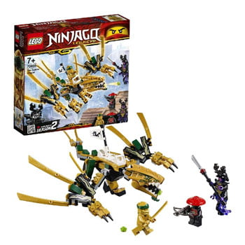 Set de construction LEGO Ninjago - Le Dragon d'or