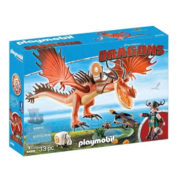 Playmobil Dragons - Rustik et Krochefer