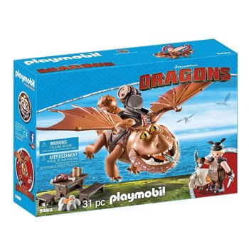 Playmobil Dragons - Varek et Bouledorgre