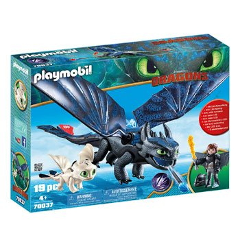 Playmobil Dragons - Harold et Krokmou