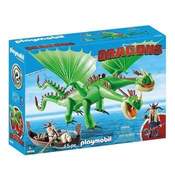 Playmobil Dragons - Prout et Pète avec Kognedur et Kranedur