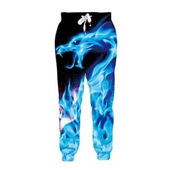 Pantalon de jogging Esprit du Dragon de Glace pour homme