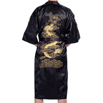 Peignoir Kimono japonais Dragon pour homme