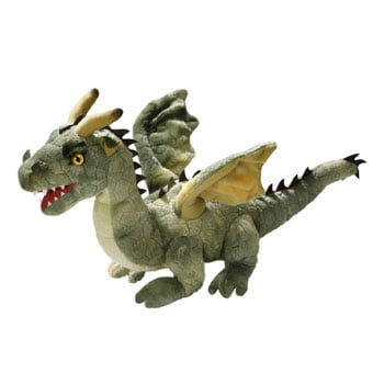 Peluche Dragon Vert (Carl Dick Collection)