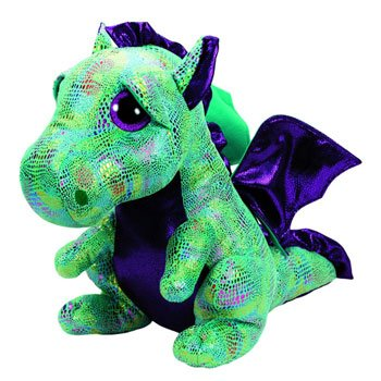 Peluche Cinder le Dragon (Beanie Boo's Collection)
