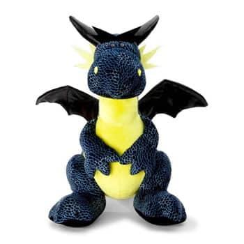Peluche Dragon Bleu/Noir (Nici)
