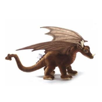 Peluche Dragon Brun