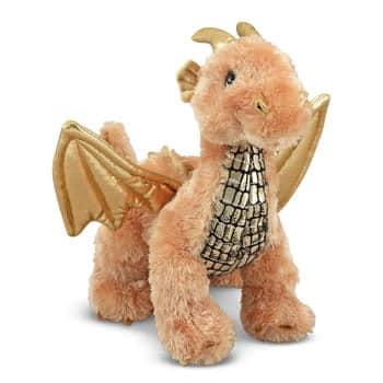 Peluche Dragon Brillant (Melissa & Doug)