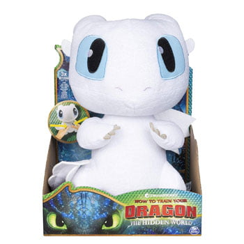 Peluche Furie Éclair Deluxe Grogneuse (Dragons – How To Train Your Dragon)