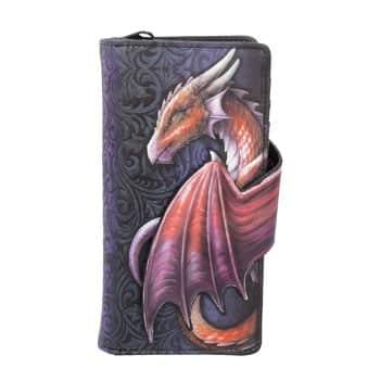 "Portefeuille Dragon rouge en relief ""Take Flight"""