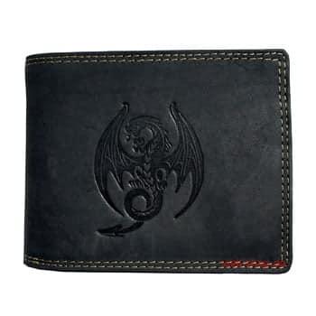 Portefeuille Dragon en cuir