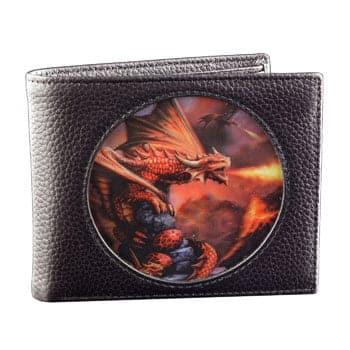 """Portefeuille """"Fire Dragon"""" - Design officiel Anne Stokes"""