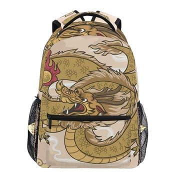 Sac à dos Dragon d'Or chinois