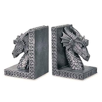 Serre-Livres Têtes de Dragon motifs celtiques