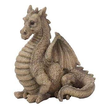 Statue de Dragon de jardin Fantasy en résine