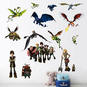 Stickers muraux Film Dragons (How To Train Your Dragon)